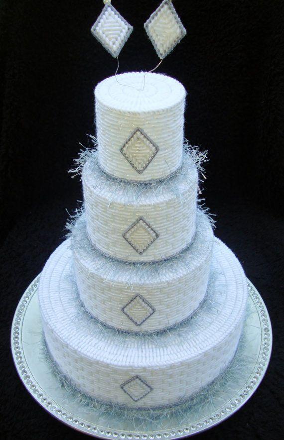 plastic canvas cake ideas and designs