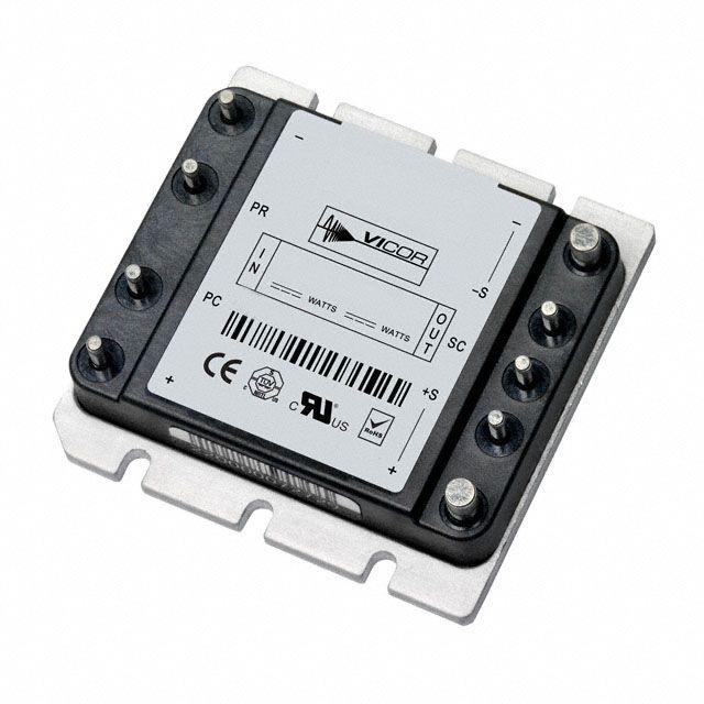 V375b48c300bg Dc Dc Converter Electronic Parts Process Control