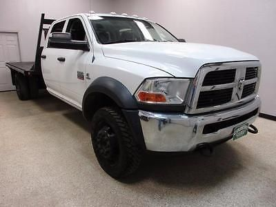 cool 2012 Dodge Ram 5500 ST Crew Cab Flatbed Truck - For Sale