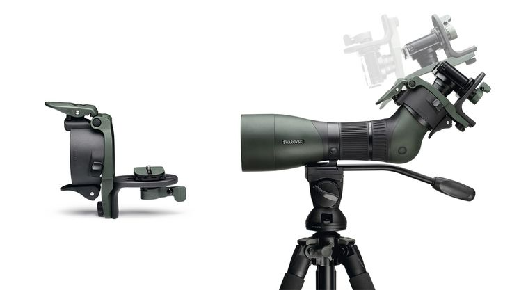 DIGISCOPING EQUIPMENT - DCB II adapter Easy to handle and quick to use. Whether you're shooting a short video of a kingfisher that suddenly appears, or taking a snapshot of a rare bird of prey, the DCB II enables you to capture these moments forever and share them afterwards. The DCB II is distinctive for its easy handling and can be used quickly thanks to its slick design. More information: http://swarovs.ki/drsD #digiscoping #photography #naturephotography #DCBII