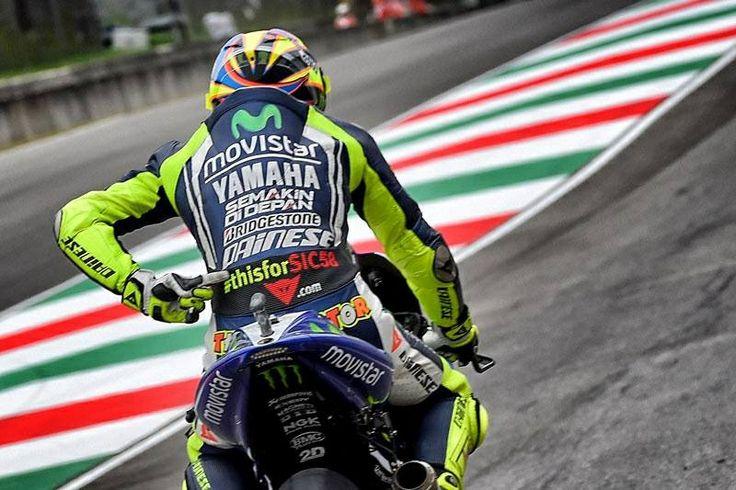 Remembering Marco Simoncelli. Valentino Rossi. 2014.