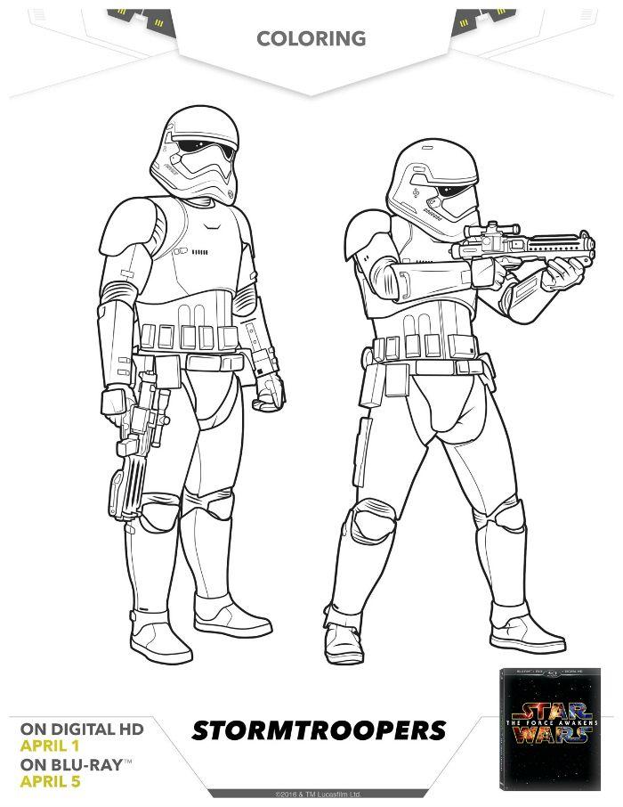 67 best Star Wars images on Pinterest Star wars, Adult coloring - new new star wars coloring pages