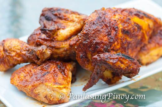 Oven Roasted BBQ Chicken Recipe - Oven Roasted BBQ Chicken is something that I usually start to prepare on a Friday afternoon so that I can have extra time to marinate it overnight and prepare it for lunch on the weekend.