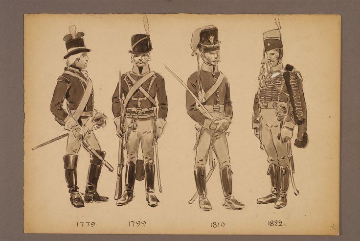 Småland hussar regiment 1779-1822 by Einar von Strokirch