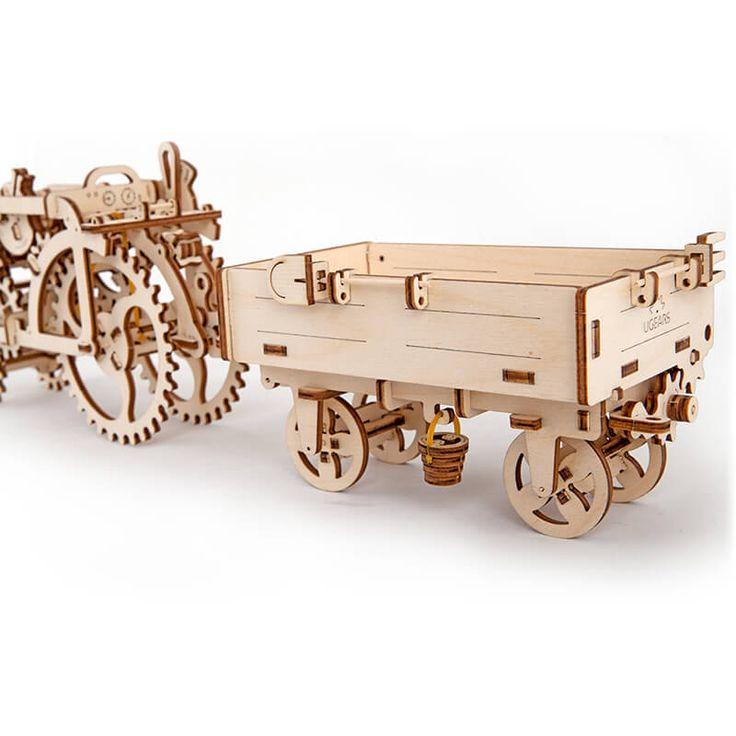 UGEARS bouwpakket tractor aanhangwagen
