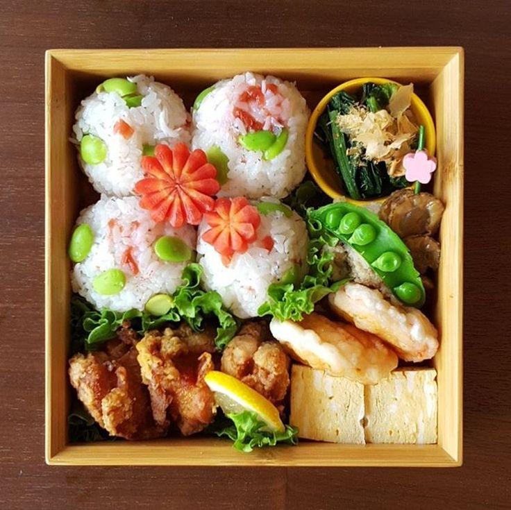 今日のお弁当 * *