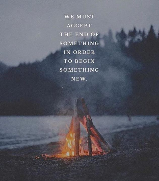We must accept the end of something in order to begin something new. via (http://ift.tt/2pNZauk)