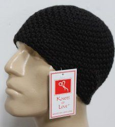 Chris' Cap for Men looks simple and easy to make. Like me can't have enough crochet hats. Makes a great gift.