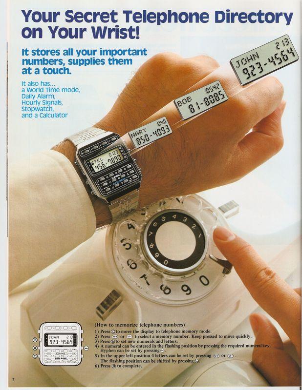 Casio Watch and Clock Catalogue, 1984 | Retronaut