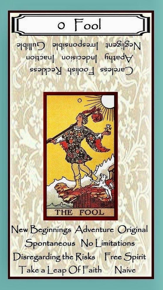 fool tarot astrology