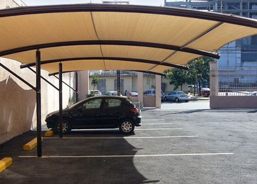 Awning For Office Building Driveway Pinterest Metal