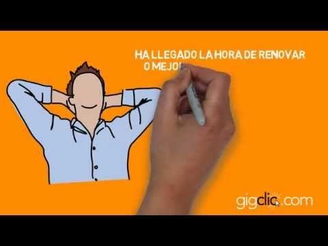 Video presentando a www.gigclic.com  Muy interesante web para los trabajos online!