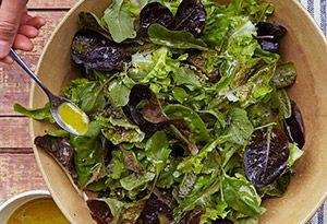 ina garten's green salad vinaigrette - get a sneak peek at recipes