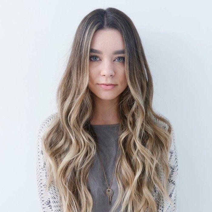 Les 25 meilleures id es concernant cheveux californien sur pinterest reflets californiens - Balayage blond californien ...