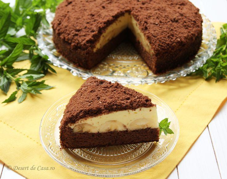 Reteta de Tort Musuroi de Cartita este un desert fin cu banane ,crema de vanilie cu frisca naturala si blat delicios cu cacao . Datorita formei si aromei cei mici il adora.