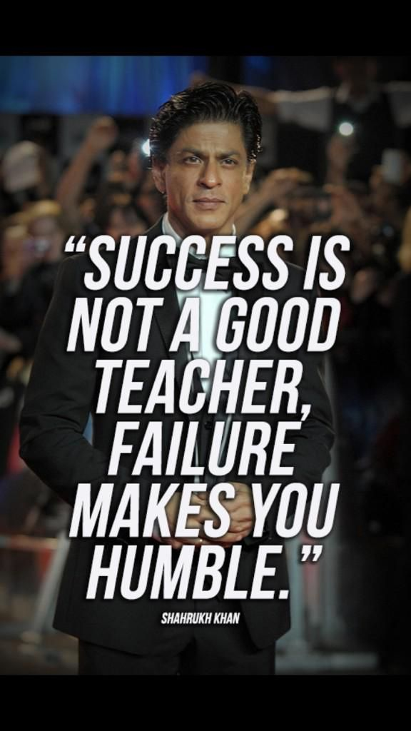 Quote from @iamsrk