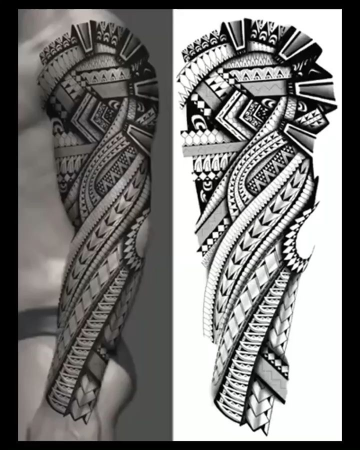 Tatouage Tattoo Art Dessin Tribal Arm Tattoos Polynesian Tattoo Maori Tattoo