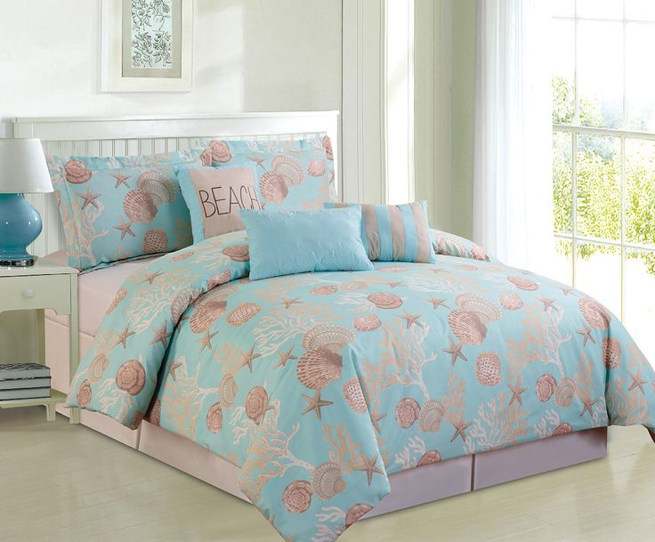 Best 25+ Coral comforter set ideas on Pinterest | Coral ...