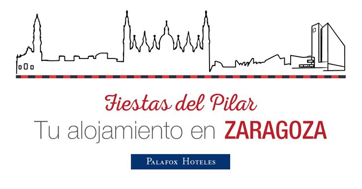 ¡Las Fiestas del Pilar de Zaragoza se acercan! 🎉 Reserva ya en nuestros hoteles y ¡no te quedes sin tu habitación! Además, si lo haces a través de nuestra web, te obsequiaremos con el Cachirulo de Palafox Hoteles. 😊