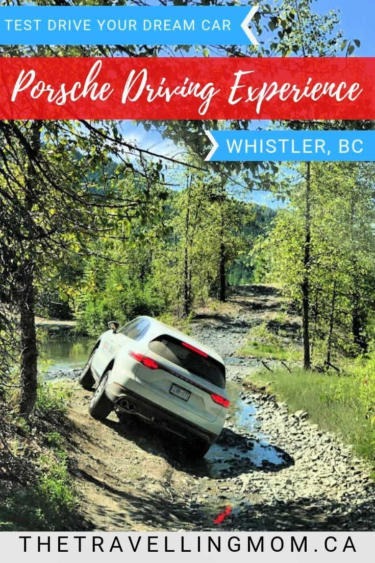 How to Drive your Dream Car with Porsche Driving Experience Whistler