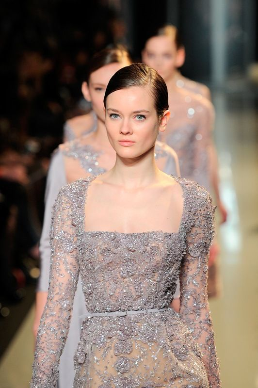 Paris Haute Couture Week: Elie Saab S/S 2013.