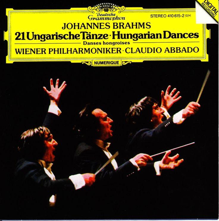 Brahms: 21 Hungarian Dances. Wiener Philharmoniker, Claudio Abbado. DG (1982) 410-615-2
