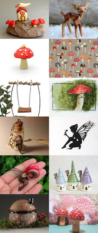 Play With Fairies by Edna Piorko on Etsy--Pinned+with+TreasuryPin.com