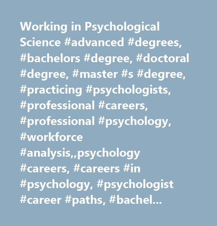 a career analysis psychologist This is the landing page and gateway to job postings associated with cia analytical positions for the careers site  present analysis directly and concisely to .