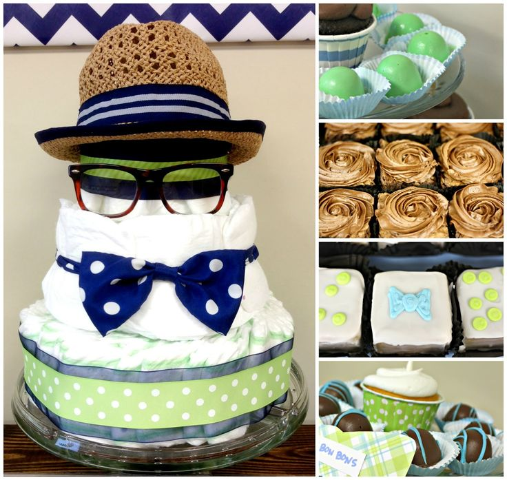 We Heart Parties: Party Details   Little Man Bowtie Baby Shower