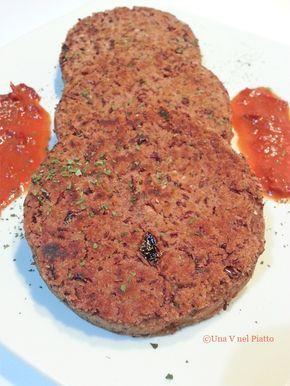 burger di fagioli rossi