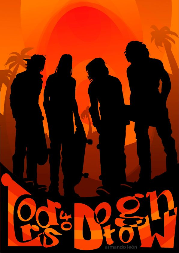 lords of dogtown movie poster armando le243n design