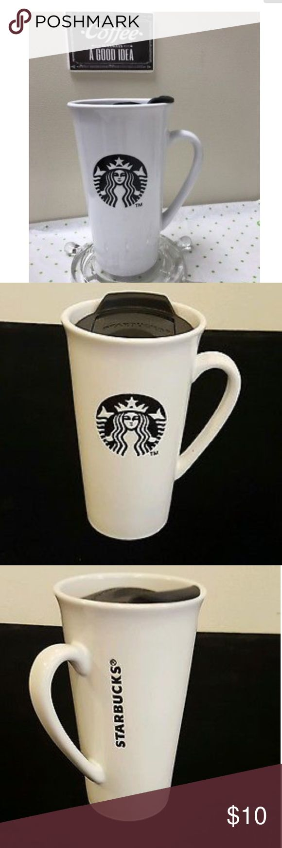 Starbucks 16 oz mug Starbucks 16oz ceramic mug with lid starbucks Other