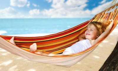 Children Girl, Hammock (click to view)