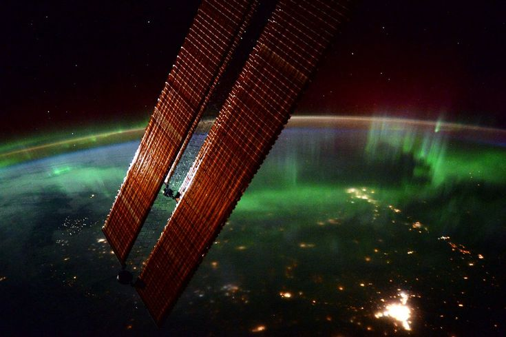 Northern Lights From The International Space Station #inspiration #photography