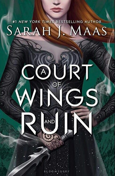 Official cover of a court of wings and ruin!!!!