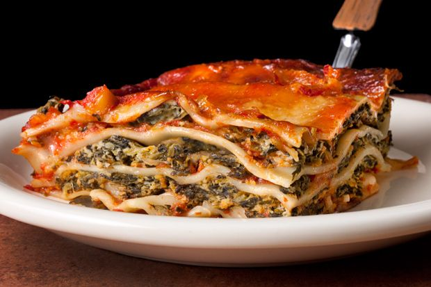 Easy Spinach Lasagna - This was SUPER yummy and as the title suggests, super EASY!  This was the first time I used the no cook lasagna noodles.  Just eliminating the step of boiling the noodles (and not having the anxiety of overcooking them), made this recipe a KEEPER :)