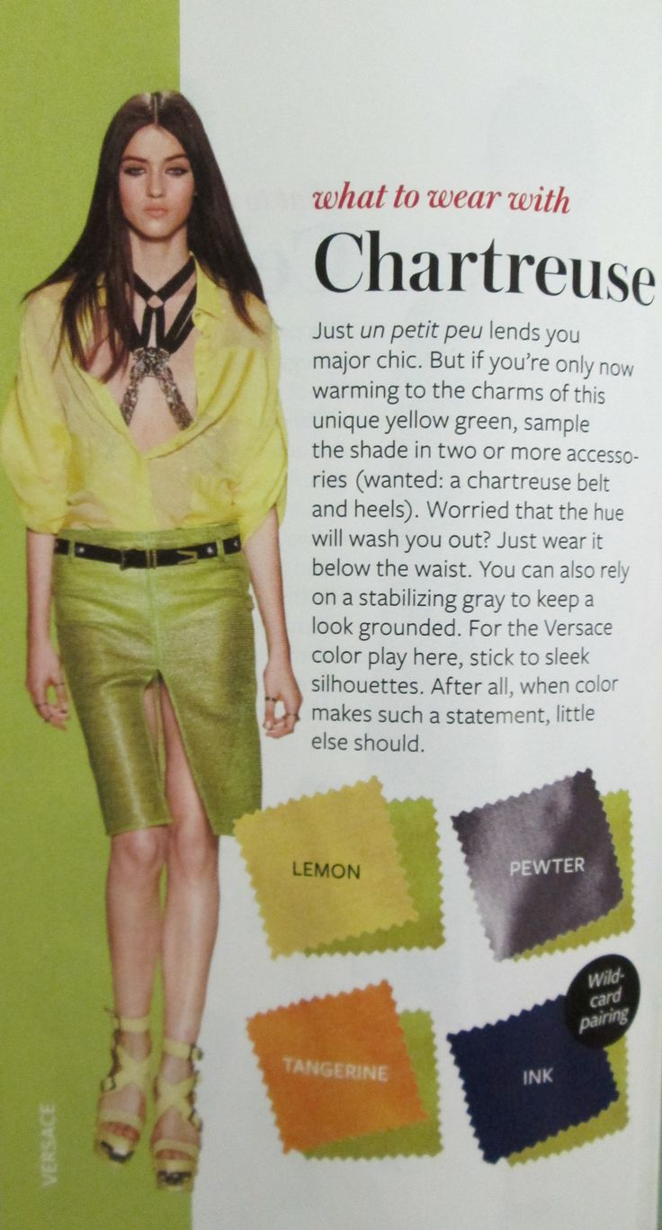 155 best instyle color crash course images on pinterest color instyle color crash course chartreuse nvjuhfo Image collections