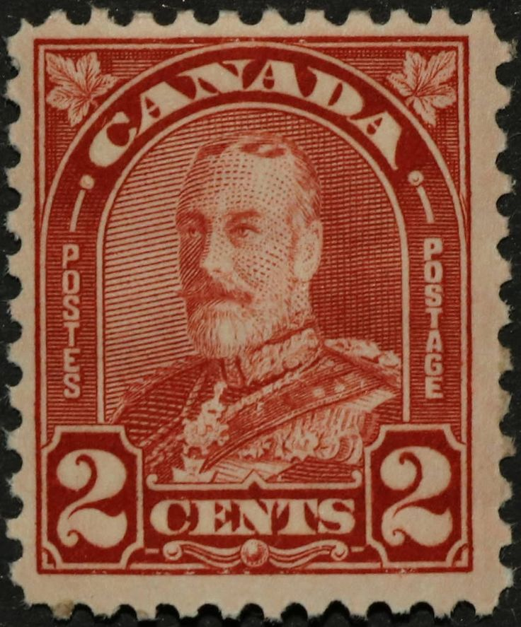"https://flic.kr/p/RsAvFY | SC #165a - Mint | Canada Postage Stamp 1930 2¢ King George V ""Arch/Leaf"" Issue"
