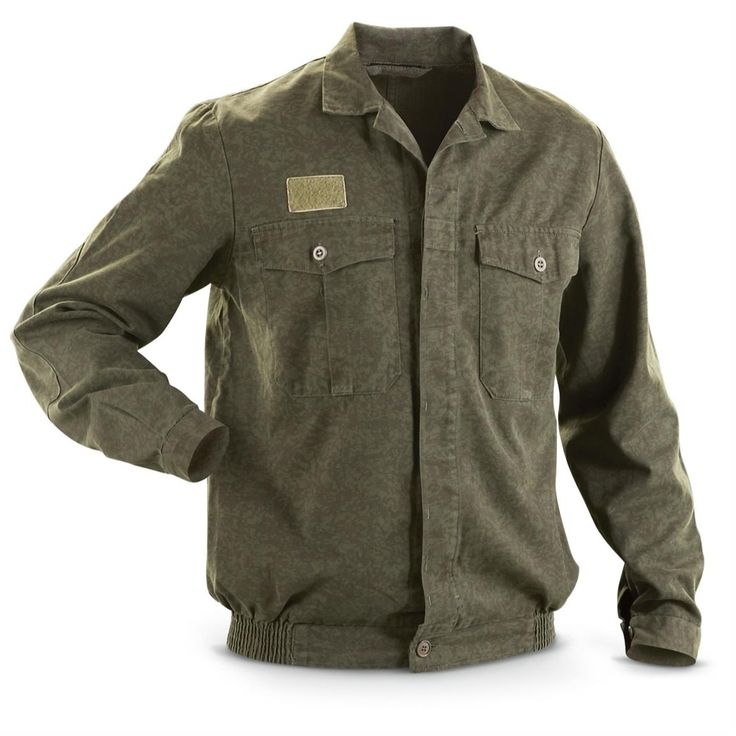 used czech military surplus field jacket field jacket on uninsulated camo overalls for men id=83132