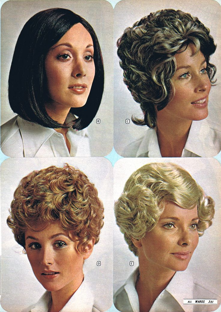1971 Montgomery Ward Wigs — So natural & realistic, no one will ever know!