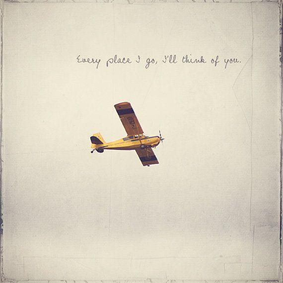 Yellow Propeller Airplane Photo Art Print Jet by CharlenePrecious, $26.00