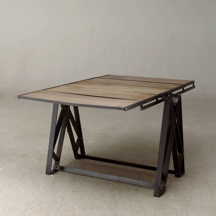 Adjustable shelving table ATFUVF003 flat