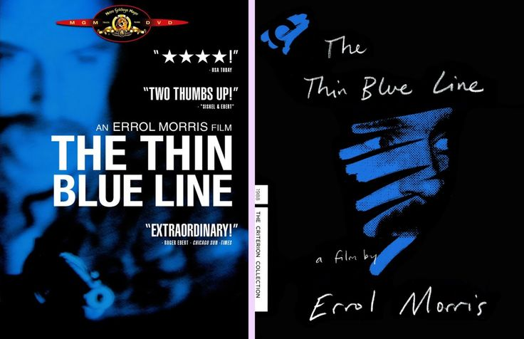 DVD Exotica: The Thin Blue Line Makes a Nice Leap Into the Criterion Collection (DVD/ Blu-ray Comparison)