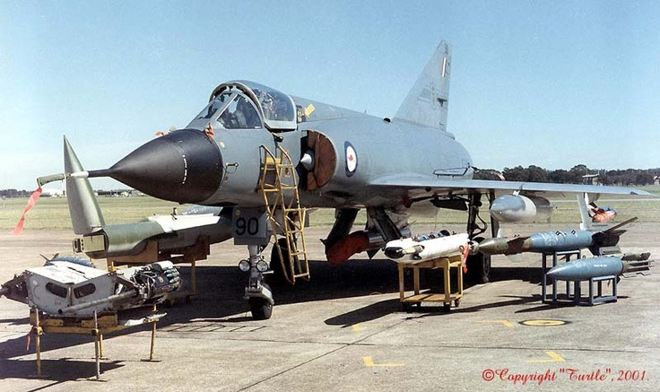 A3-90 77Squadron Mirage IIIO - RAAF Williamtown 2001