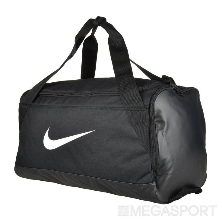 The Nike Gym Club Women's Training Duffel Bag keeps all of your gear protected and organized with durable, water-resistant fabric, a spacious dual-zip main compartment and multiple pockets.