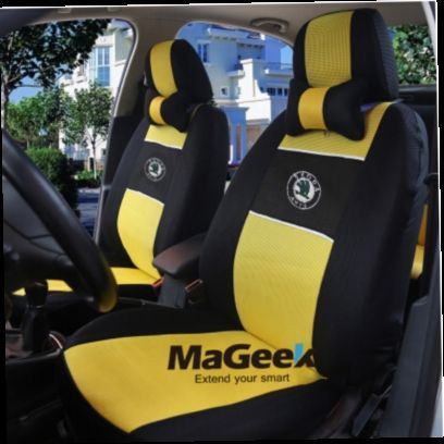 51.14$  Watch now - http://alivte.worldwells.pw/go.php?t=32420845825 - Universal car seat cover for Skoda Octavia RS Fabia Superb Rapid Yeti Spaceback GreenLine Joyste accessories sticker 51.14$
