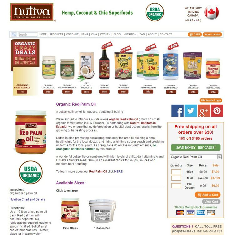 red palm oil - buttery culinary oil for sauces and such  > check out red palm oil recipes at http://kitchen.nutiva.com/product/organic-red-palm-oil/