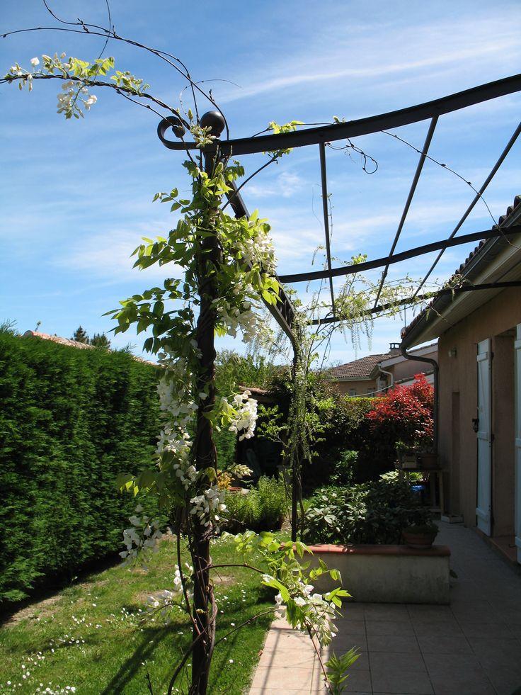 Pergola Ferronnerie d'Art Sourrouille Toulouse