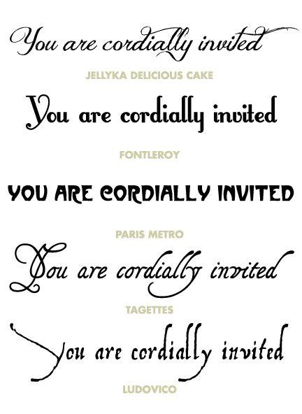 best 25 wedding invitation fonts ideas on pinterest wedding fonts wedding fonts free and script fonts - Wedding Invitation Font