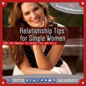Relationship Tips for Single Women